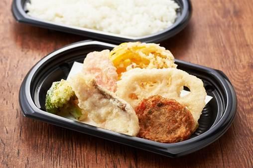 【期間限定九州フェア!】長崎県産真鯛と九州野菜の天ぷらセット