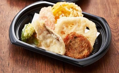 【期間限定九州フェア!】長崎県産真鯛と九州野菜の天ぷら盛り合わせ(単品)
