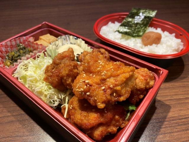 鶏唐揚げ(5個)弁当
