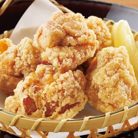 鶏の手作りジューシー唐揚げ