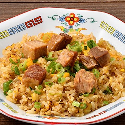 ニンニク醤油香る角煮炒飯