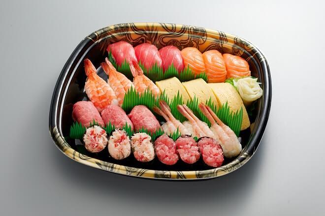 寿司盛り合わせ<珊瑚(さんご)>3人前