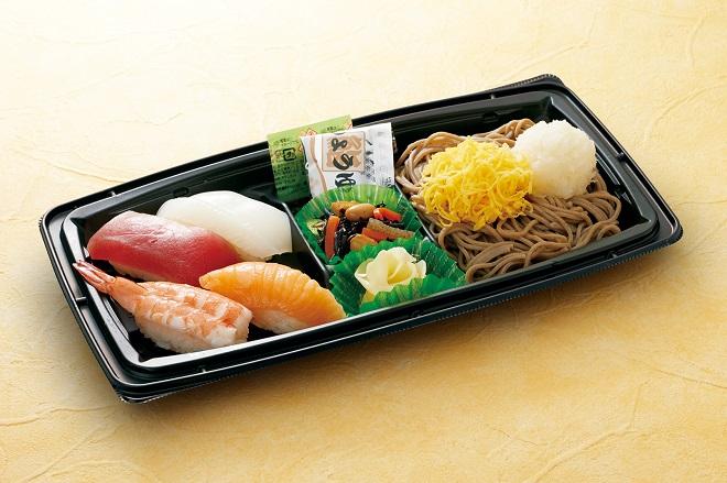 【~5/9期間限定販売】 ミニお寿司セット(うどん/そば)