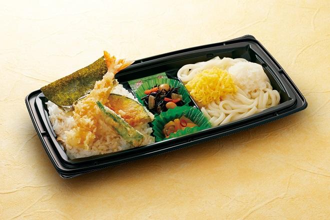 【~5/9期間限定販売】 ミニ天丼セット(うどん/そば)