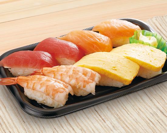 寿司盛り合わせ8貫<楽>