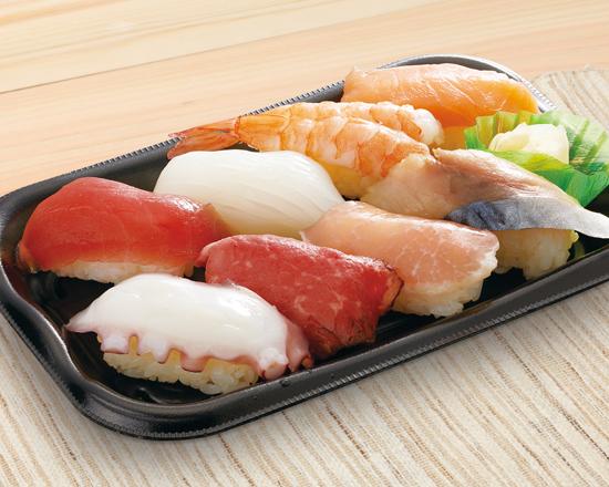 【特別価格】寿司盛り合わせ8貫<彩>1人前