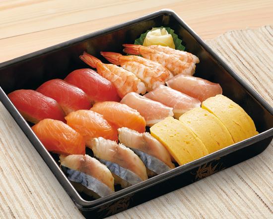 【特別価格】寿司盛り合わせ18貫<集>3人前