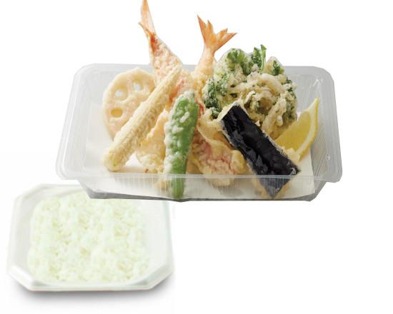 金目鯛と旬菜の天ぷら弁当
