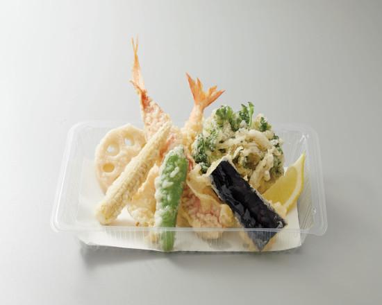 金目鯛と旬菜の天ぷら盛合せ