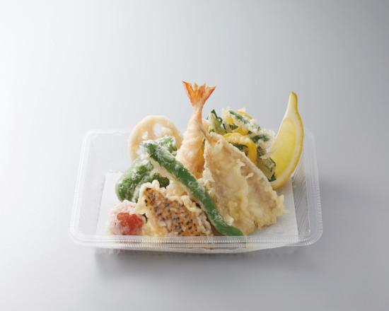 鱚と彩り野菜の天ぷら盛合せ