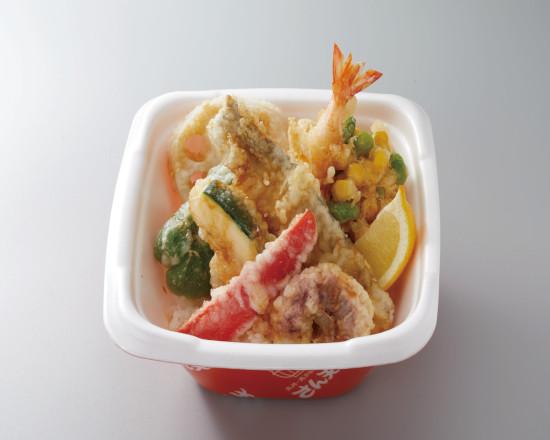 太刀魚と夏野菜の天丼