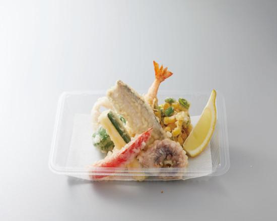 太刀魚と夏野菜の天ぷら盛合せ