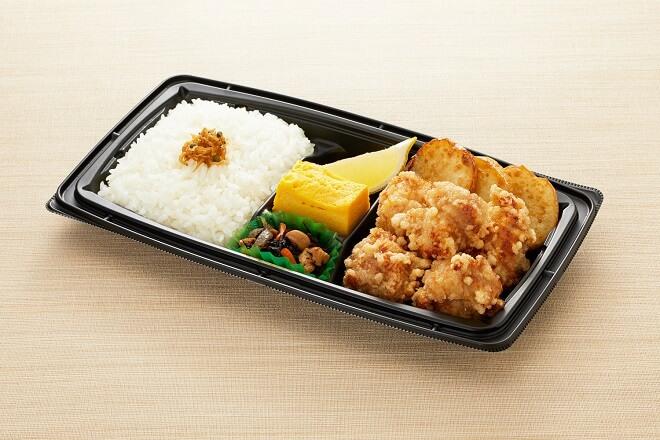 【~9/30 まで216円OFF!!※関東+東静岡限定】  若鶏の唐揚弁当 通常646円