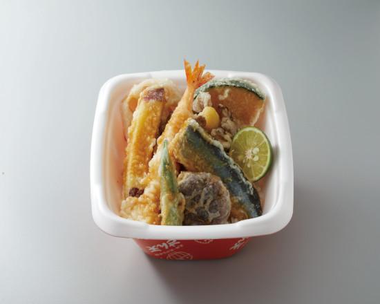 【キャンペーン対象商品】秋刀魚と舞茸のかき揚げ天丼