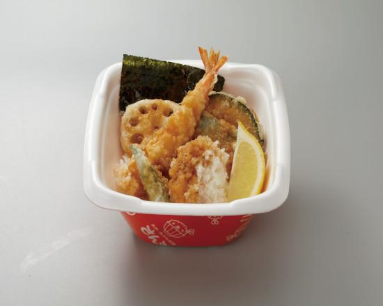 39(サンキュー)天丼+おろし&レモン