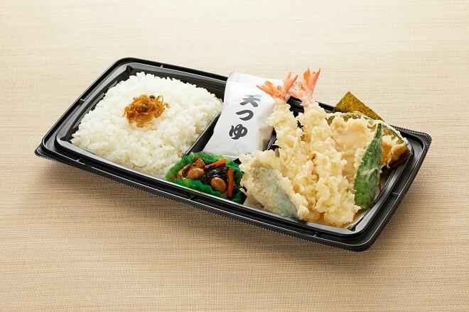 天ぷら盛り合わせ弁当