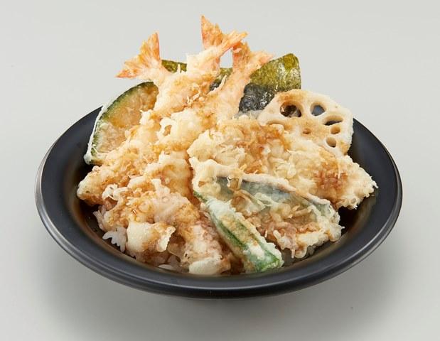 【~3/31値下げキャンペーン】にぎやか海老天丼 通常861円