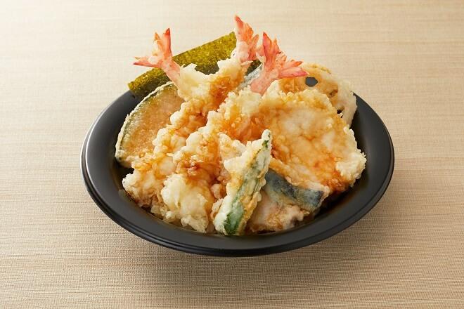 【~5/31 期間限定で半額!!】 にぎやか海老天丼 通常862円