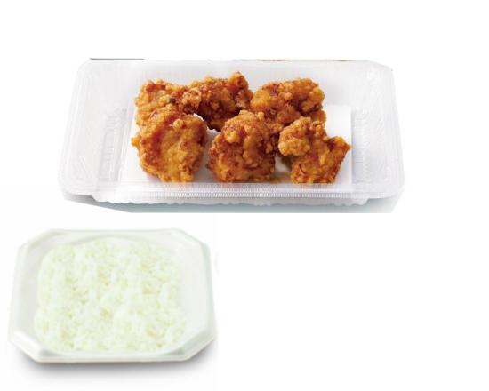 若鶏の唐揚げ弁当