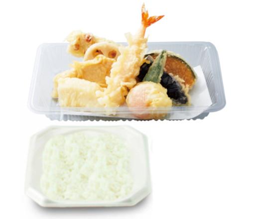 グランドスラム天ぷら弁当