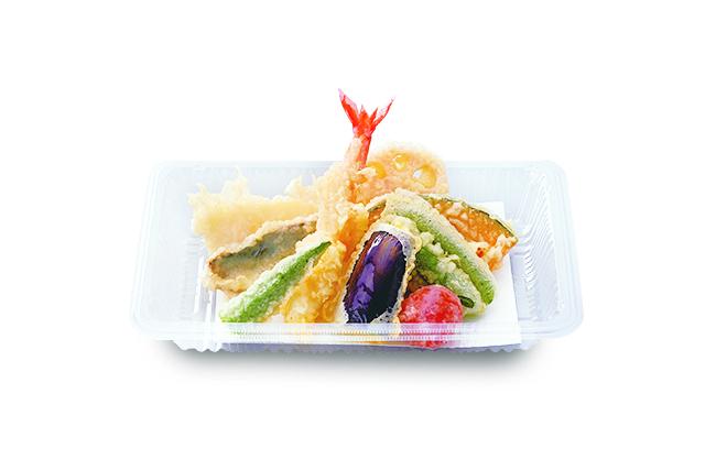 海鮮野菜天ぷら盛合せ