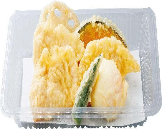 鶏たま天ぷら盛合せ