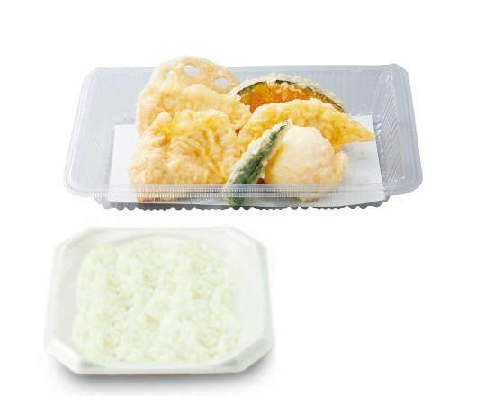鶏たま天ぷら弁当