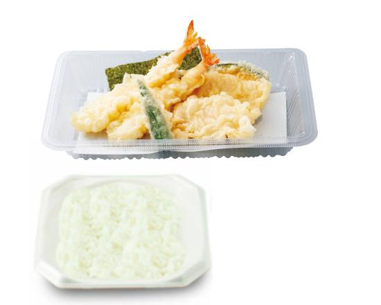 海老と鶏の天ぷら弁当