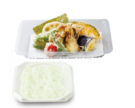 野菜天ぷら弁当