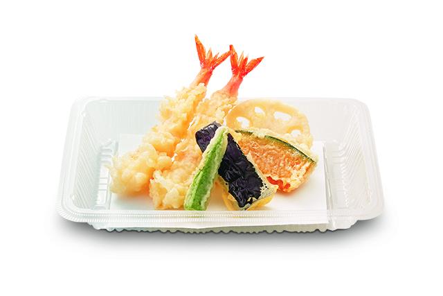 海老天ぷら盛合せ