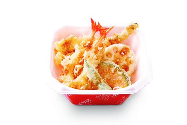 活〆真穴子と海老の天丼(関西)