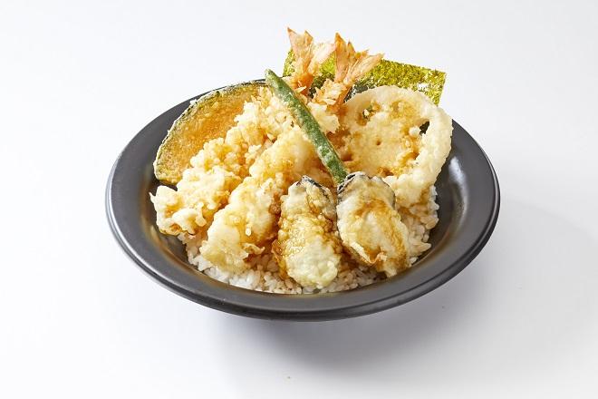 【~1/31期間限定メニュー】牡蠣海老天丼