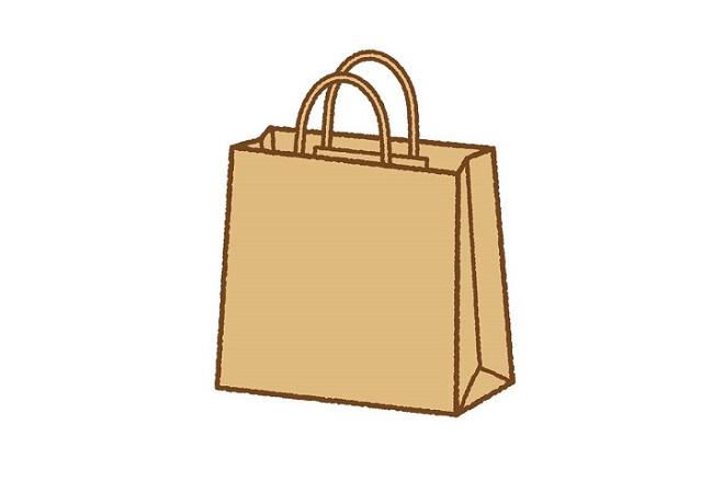レジ紙袋【テイクアウト用】