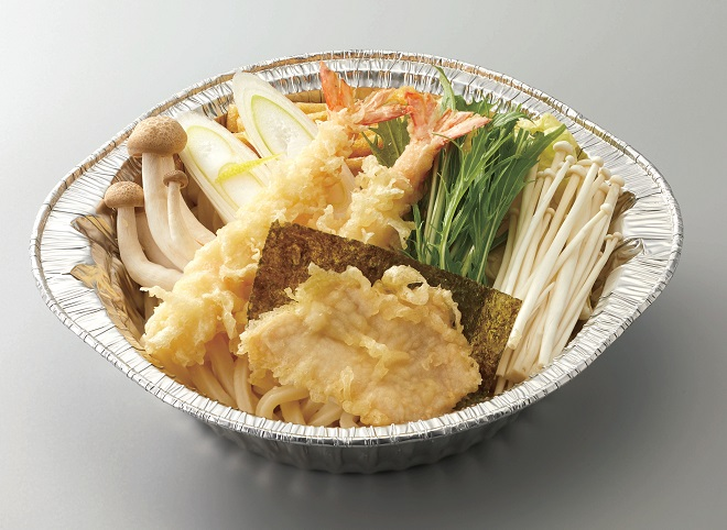 【~中部地区限定メニュー(期間限定)】海老・鶏天 味噌煮込みうどん