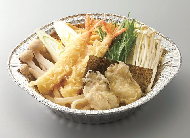 【~1/31期間限定メニュー】海鮮天 鍋焼きうどん