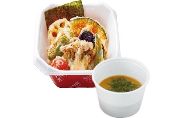 【新春キャンペーン】野菜天丼+みそ汁 550円→500円