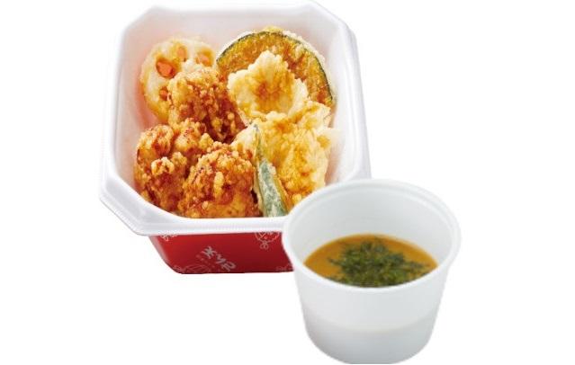 【新春キャンペーン】鶏唐×鶏天丼+みそ汁 590円→500円