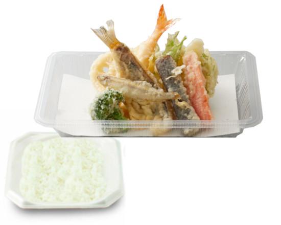 【期間限定販売!】わかさぎとメバルの天ぷら弁当