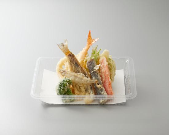 【期間限定販売!】わかさぎとメバルの天ぷら盛合せ