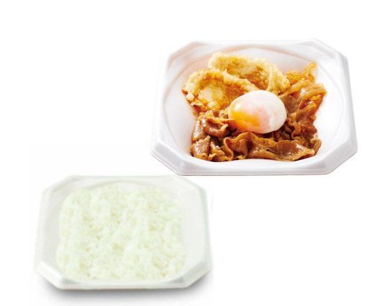 【期間限定販売!】鶏天牛すき月見弁当