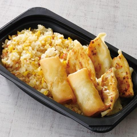 焼き餃子・春巻き&炒飯