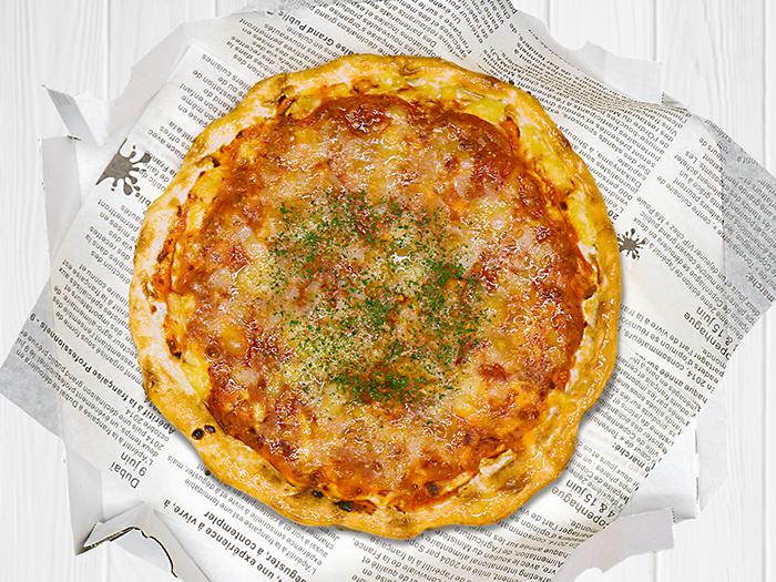 ミートチーズピザ