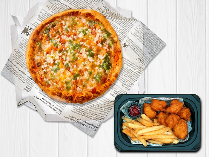 ピザセット(ポテから・ピザ1枚)