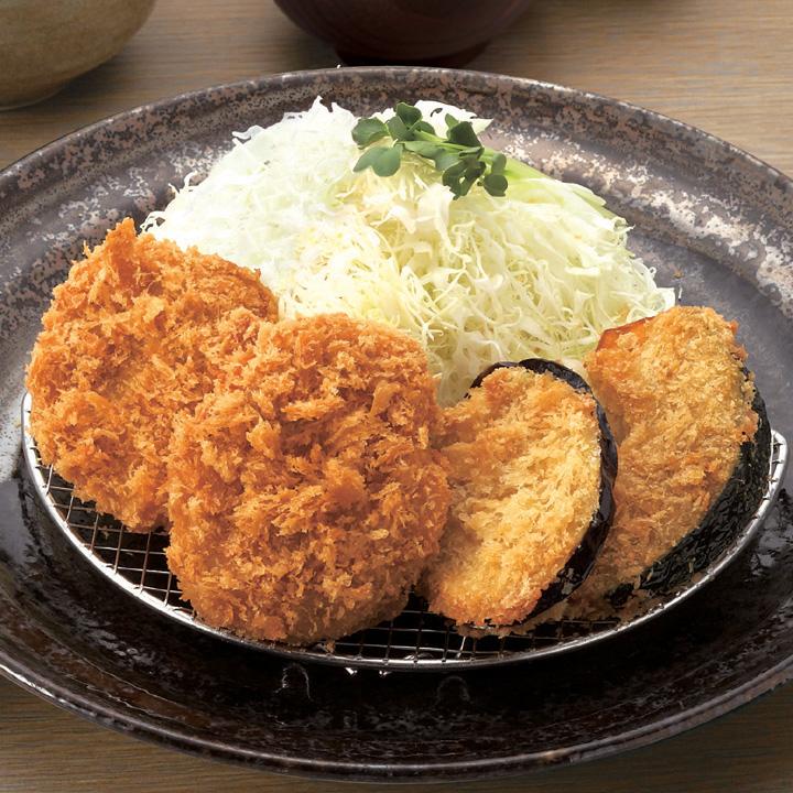 ヒレかつ・野菜弁当