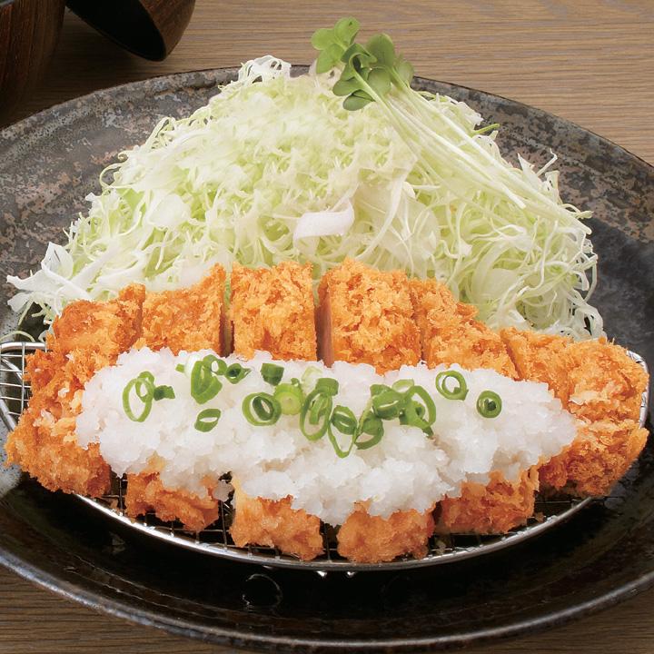 おろしロースかつ弁当(150g)