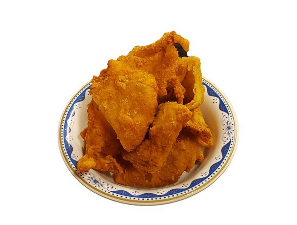 鶏皮パリパリ