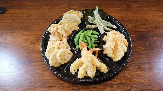 賑わい天ぷらセット