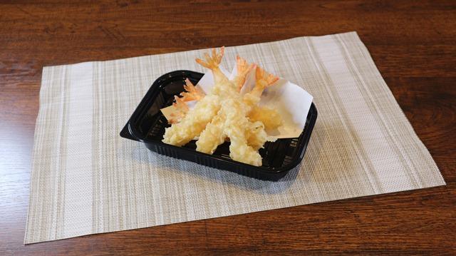 海老天ぷら 5尾