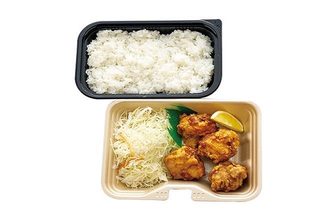鶏もも唐揚げ弁当普通(4個)