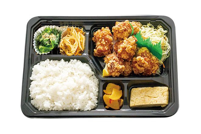 ● 鶏もも唐揚げ弁当 普通(5個)